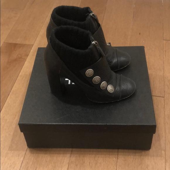 CHANEL Shoes - Chanel Bottines Noir Bottines Bootie